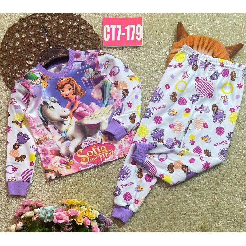 Пижама для девочек Х010612-1