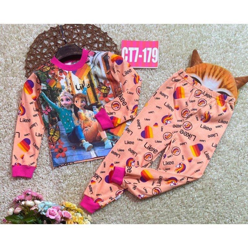 Пижама для девочек|Х010612