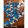 Теплая флисовая пижама|Х09296-8