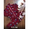 Теплая флисовая пижама|Х09296-6