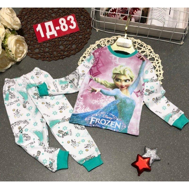 Пижама для девочек (без флиса)|Х12213-3