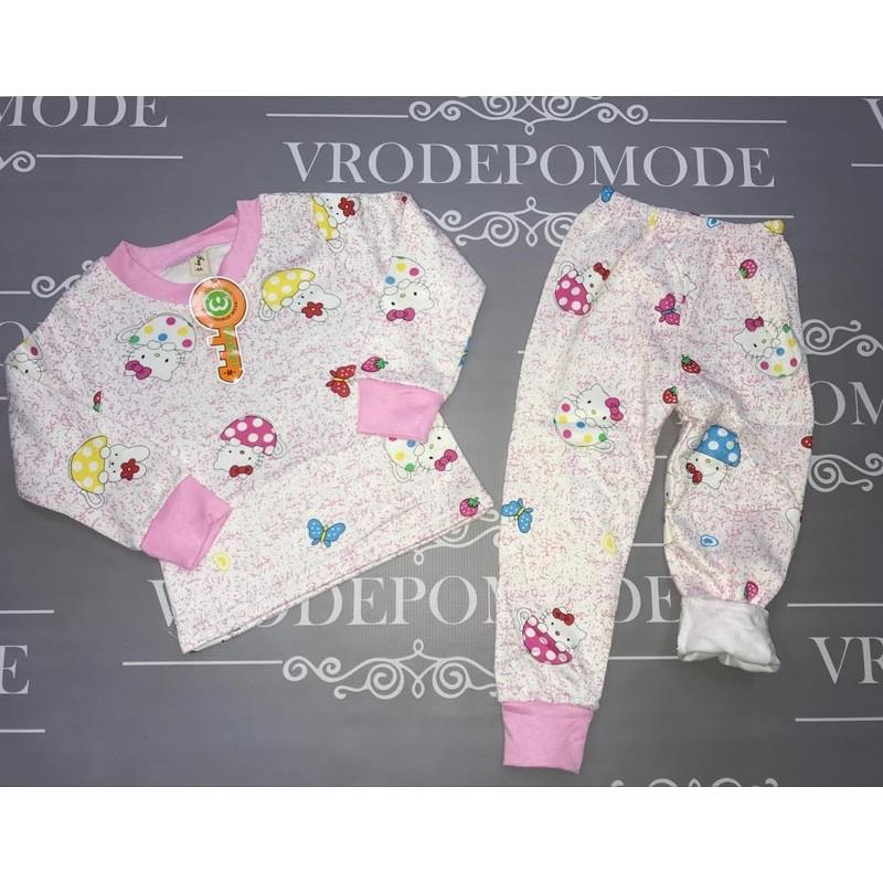 Пижама на флисе для девочек 90188
