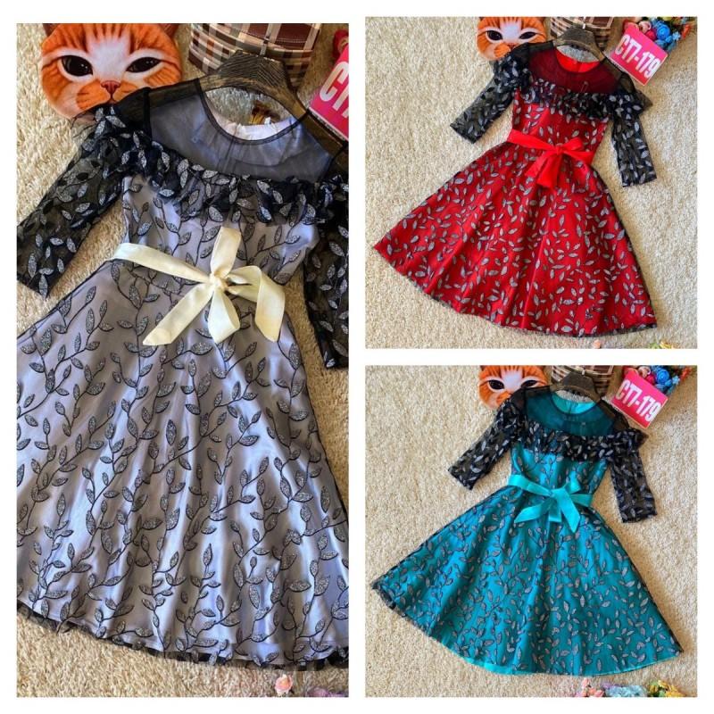 Платье для девочек|Х11184-1