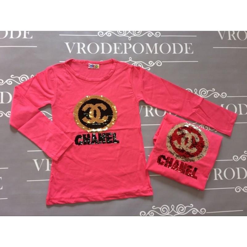 Кофта для девочек  цвет-розовый  16461