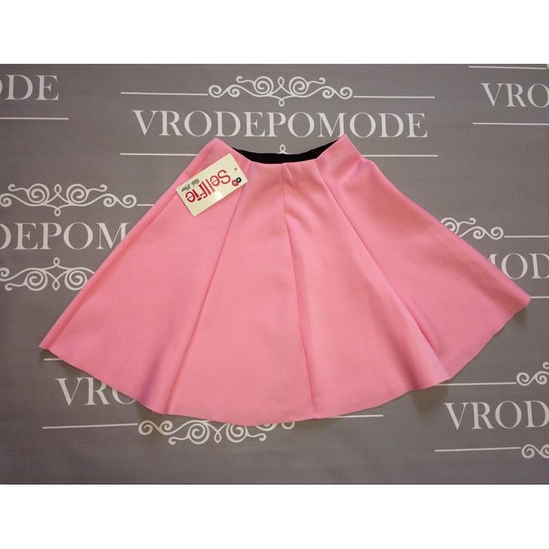 Юбка для девочек от 5 до 12 лет цвет розовый, маломерит |193376