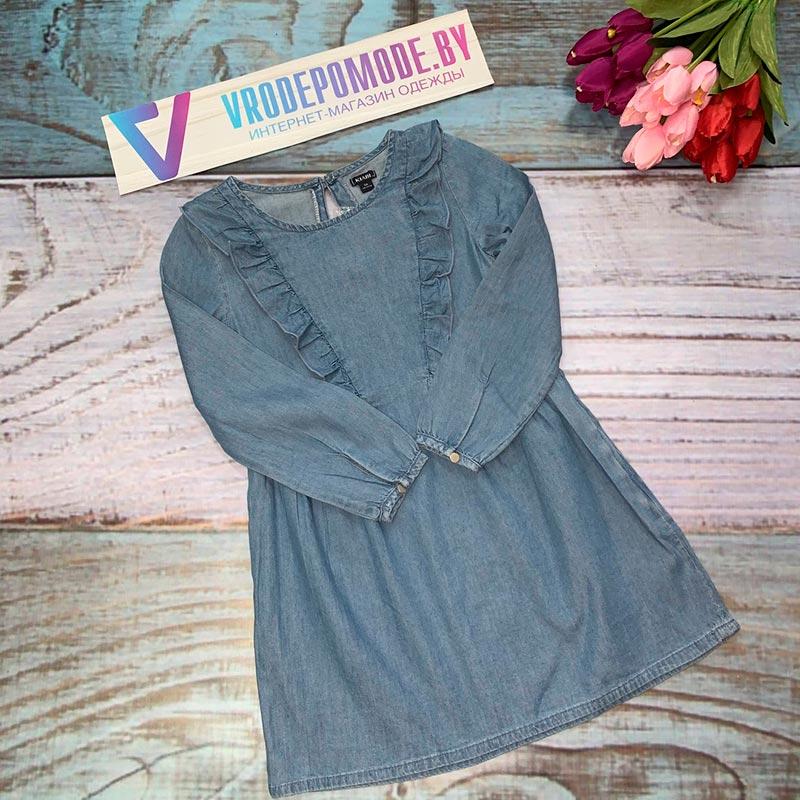 Джинсовое платье 205178