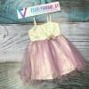 Платье для девочек от 5 до 8 лет, цвет фиолетовый, маломерит |28002