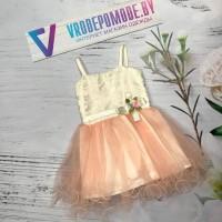 Платье для девочек, цвет - розовый |28002