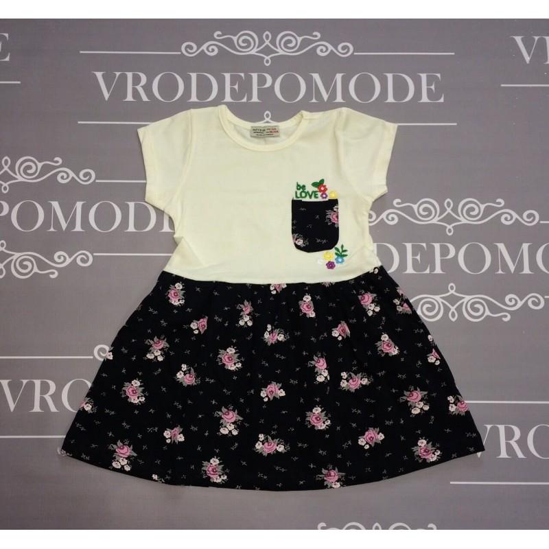 Платье для девочки, цвет -белый|291349
