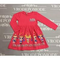 Детское платье, цвет-розовый |30881