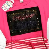 Платье для девочек, цвет-розовый|506138