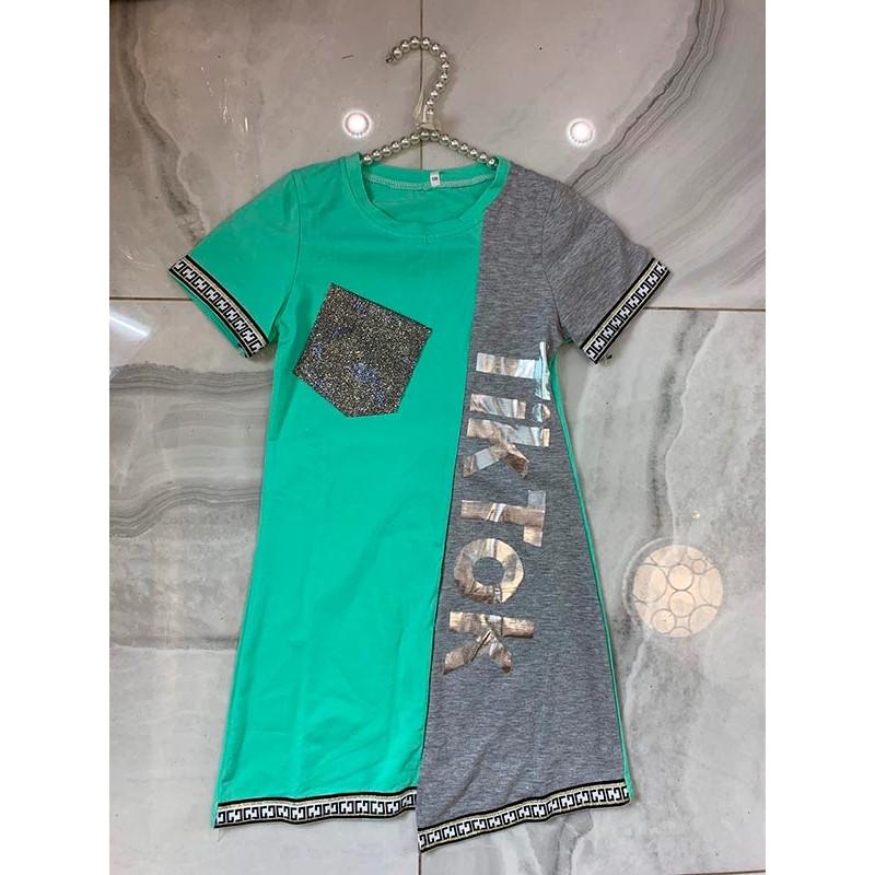 Спортивное платье для девочек 5668-5