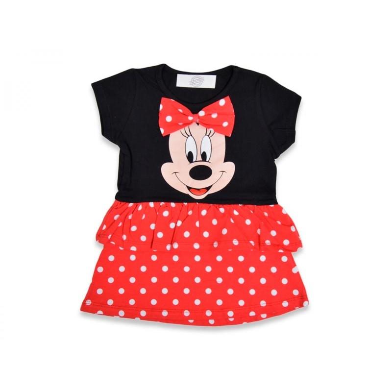 Детское платье для девочек, цвет- черный с красным |71349