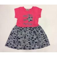 Платье для девочек от 3 до 7 лет, цвет розовый |91347