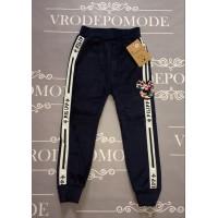 Теплые велюровые штаны для девочек |17563