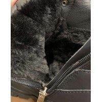 Теплые зимние ботинки на меху|12291