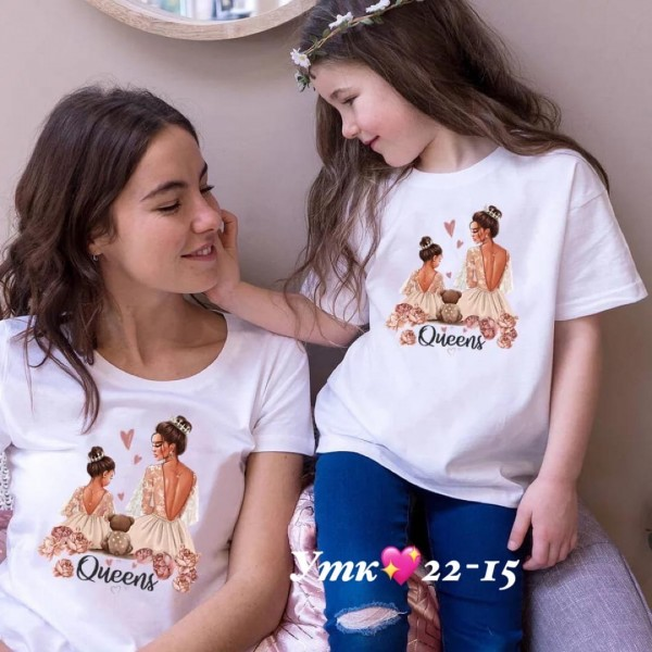Футболки family look|Х01286