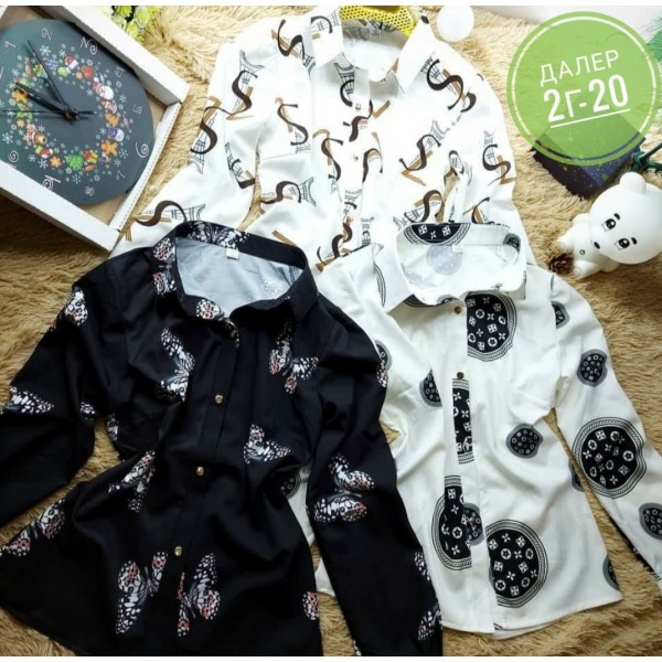 Люксовые рубашечки|Х02098