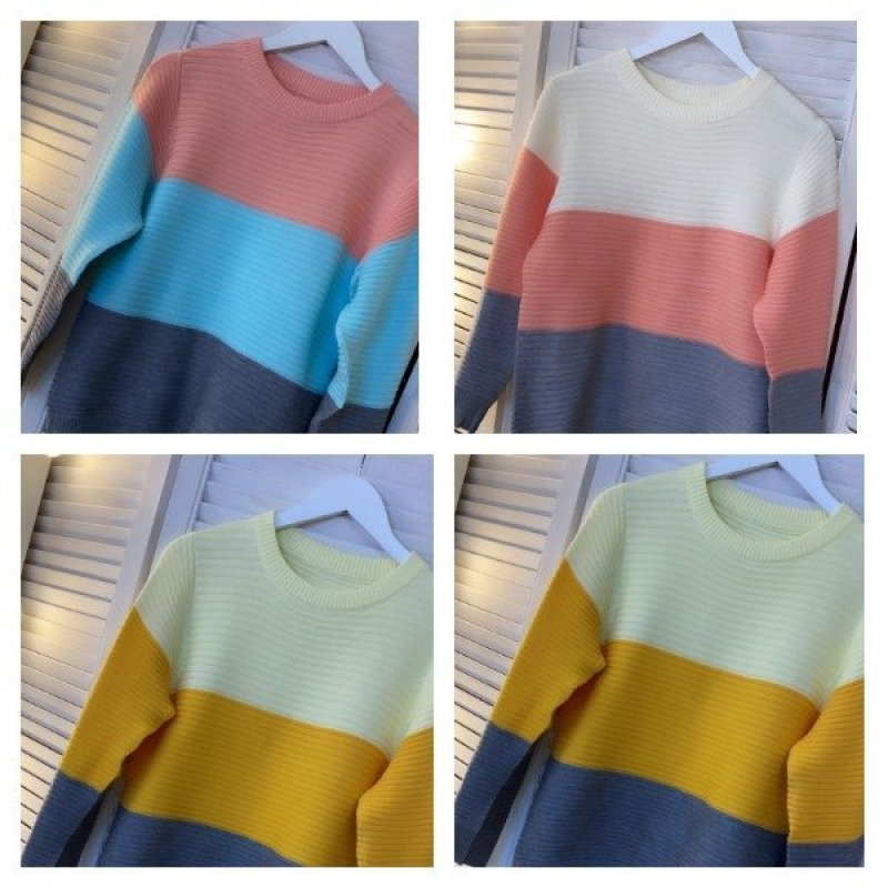 Яркие свитерочки на яркую осень Х09189
