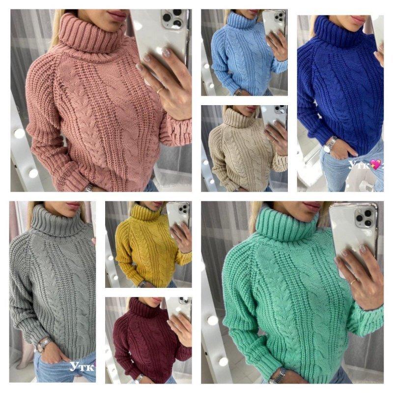 Вязаный свитер Х11136