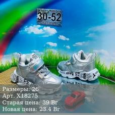 Демисезонные кроссовки с утеплителем|Х18275
